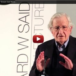 "Noam Chomsky (March 18, 2013) ""Edward Said Memorial Lecture"" (Part 8/8)"
