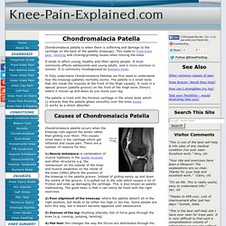 Chondromalacia Patella: Symptoms, Diagnosis & Treatment