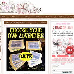 Choose Your Own Adventure Date : The Dating Divas