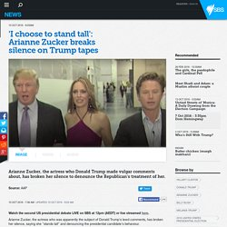 'I choose to stand tall': Arianne Zucker breaks silence on Trump tapes