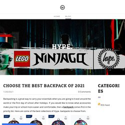 Choose the Best Backpack of 2021