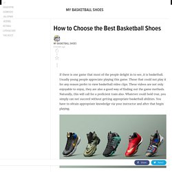 mybasketballshoes.kinja