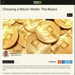 How to Choose a Bitcoin Wallet: The Basics