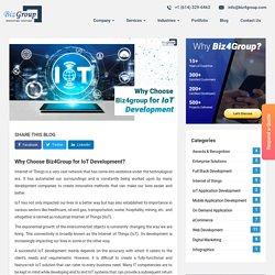 Why Choose Biz4Group for IoT Development?