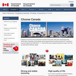 Choose Canada