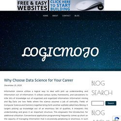 Why Choose Data Science for Your Career