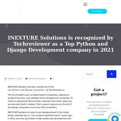 Choose Top Python and Django Development company in 2021