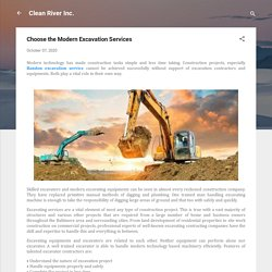 Choose the Modern Excavation Services