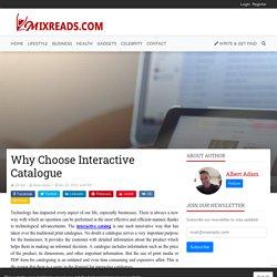 Why Choose Interactive Catalogue