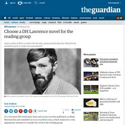 Choose a DH Lawrence novel for the reading group