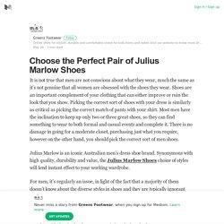 Choose the Perfect Pair of Julius Marlow Shoes – Greens Footwear – Medium