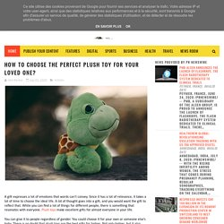 How to Choose the Perfect Plush Toy for Your Loved One? - The Swarn Articles
