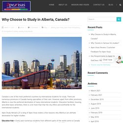Why Choose to Study in Alberta, Canada?