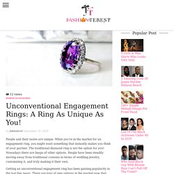 Choosing the Best Engagement Ring for You