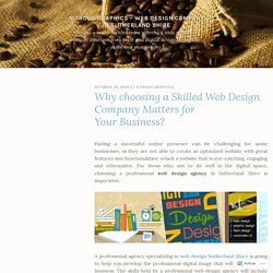 Why choosing a Skilled Web Design Company Matters for Your Business? – Nitrous Graphics – Web Design Company in Sutherland Shire