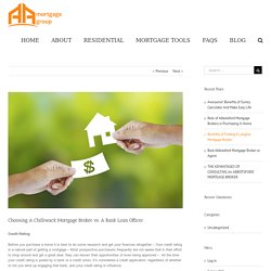 Mortgage Broker for Chilliwack Residents