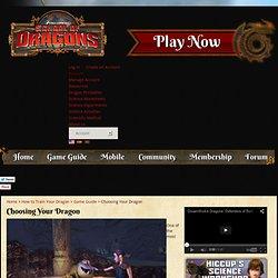 Choosing Your Dragon - Dragons & Vikings