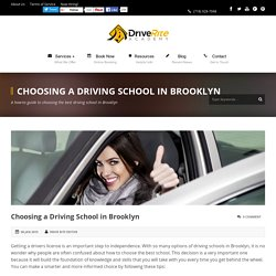 Choosing a Driving School in Brooklyn - Drive Rite Academy