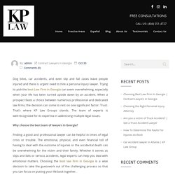 Contract Lawyers in Georgia - KP LAW GROUP,
