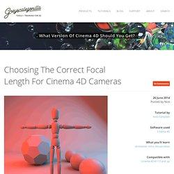 Choosing The Correct Focal Length For Cinema 4D Cameras - Greyscalegorilla Blog