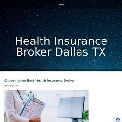 Choosing the Best Health Insurance Broker