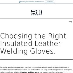 Buy All types of Work Safety Gloves With RK Safety
