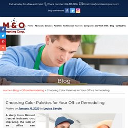 Choosing Color Palettes for Your Office Remodeling