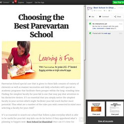 Choosing the Best Parevartan School