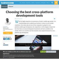 Choosing the best cross-platform development tools
