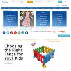 Choosing the Right Fence for Your Kids
