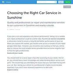 Car Service Sunshine