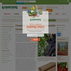 Choosing the Right Mulch for Vegetable Gardens: Gardener's Supply