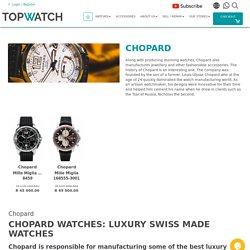 Certified Pre-Owned Chopard Watches for Sale