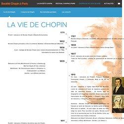 La biographie et le catalogue de l'œuvre de Chopin - frederic-chopin.com