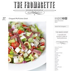 Chopped Muffuletta Salad