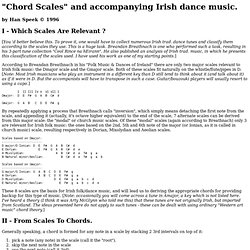 """Chord Scales"" and accompanying Irish dance music."