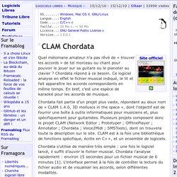 CLAM Chordata - Musique - Logiciels Libres