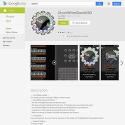 ChordWheelDavidKBD - Aplicações Android no Google Play