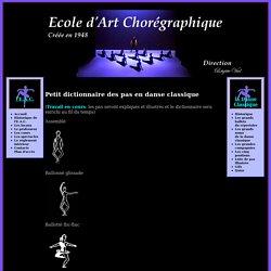 Ecole d'Art Chorégraphique - Ecole de danse classique Grenoble