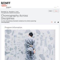 Choreography Across Disciplines