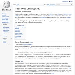 Web Service Choreography