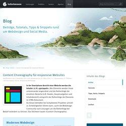 Content Choreography für responsive Websites