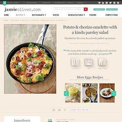 Potato & Chorizo Omelette