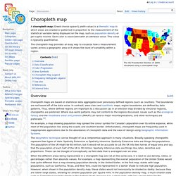 Choropleth map - GIS Wiki