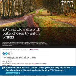 20 great UK walks with pubs, chosen by nature writers