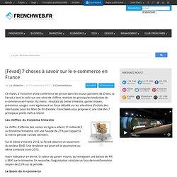 [Fevad] 7 choses à savoir sur le e-commerce en France