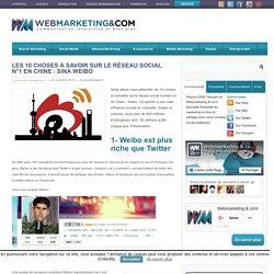 Les 10 choses à savoir sur le réseau social N°1 en Chine : Sina Weibo