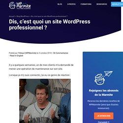 10 choses à faire pour avoir un site WordPress professionnel