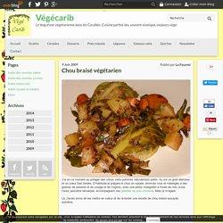 Chou braisé végétarien