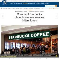 Comment Starbucks chouchoute ses salariés britanniques